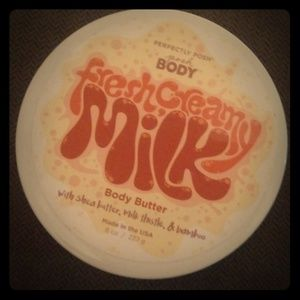 Fresh, creamy milk body butter from Perfectly Posh